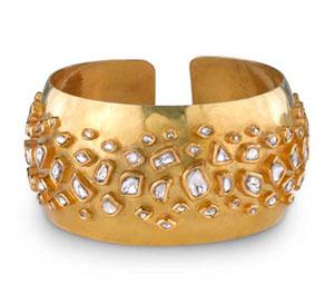 Amrapali diamond cuff