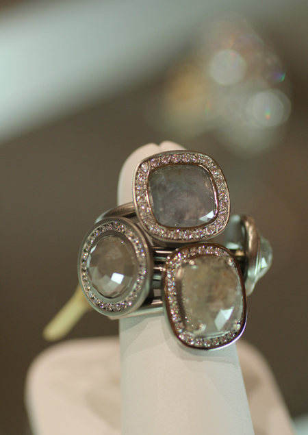 Anne Sportun diamond rings Couture 2011