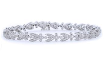 Antique Style Diamond Bracelet