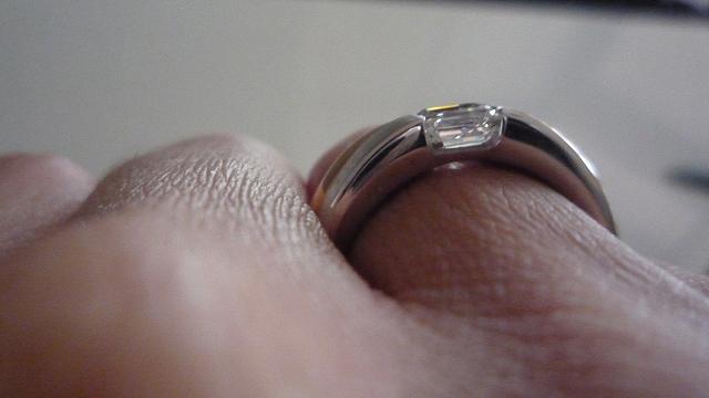 Jewel Of The Week Men S Asscher Cut Diamond Ring