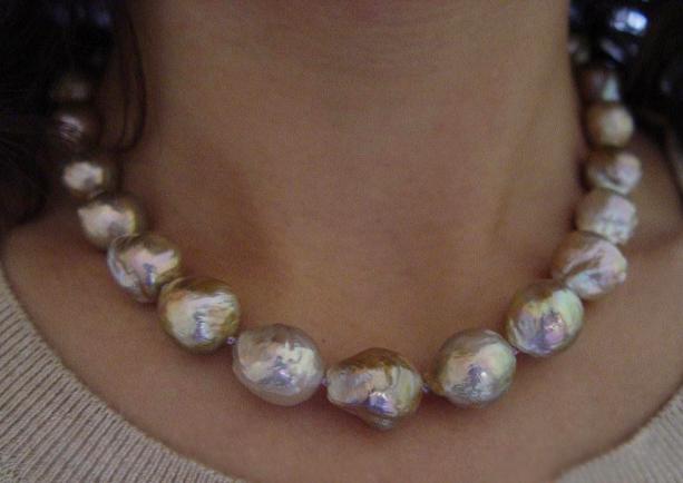 Jewel Of The Week Metallic Baroque Freshwater Pearl