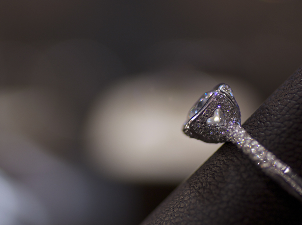 Beaudry Couture diamond engagement ring