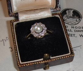 Heirloom Pearl and OMC Ring