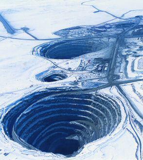 BHP Billiton's Ekati mine in Canada