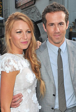 Blake Lively and Ryan Reynolds: celebrity engagements 2012