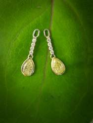 Yellow Diamond Dangling Earring Jackets