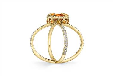 CulGarnet saturn ring