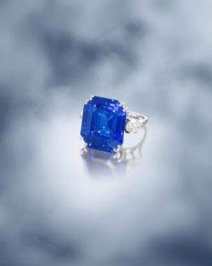 43.16-carat sapphire and diamond ring by Van Cleef & Arpels to be auctioned at Bonhams Hong Kong November 2012