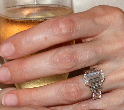 Angelina Jolie's engagement ring