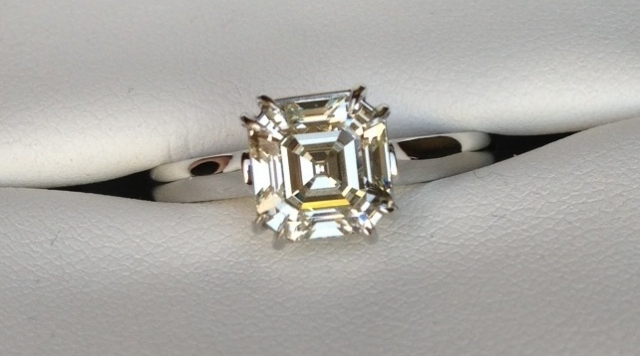 An Asscher Engagement for BriBee