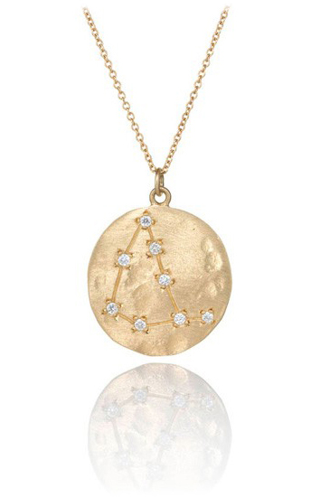 Brooke Gregson Capricorn necklace at Chelsea
