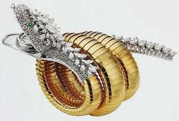 Bulgari Serpent Bracelet Elizabeth Taylor