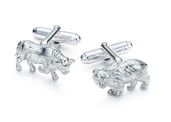 Bull and Bear Cuff Links Tiffany & Co.