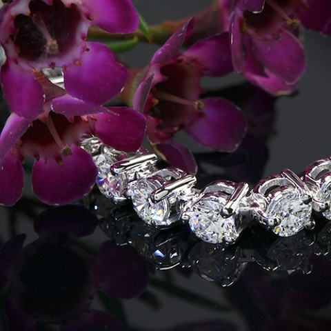 7 ctw WF tennis bracelet for Butterfly123