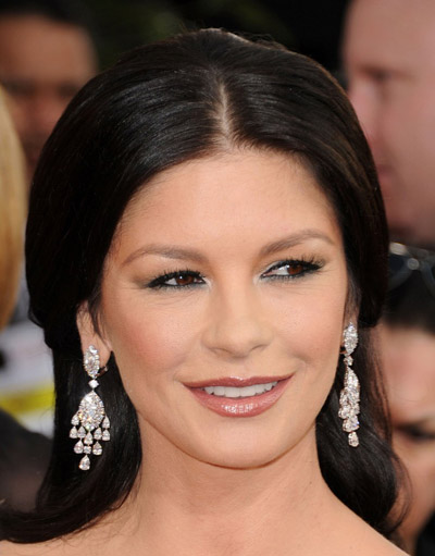 Catherine Zeta-Jones 2011 Golden Globes