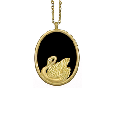 Cleves Swan Pendant
