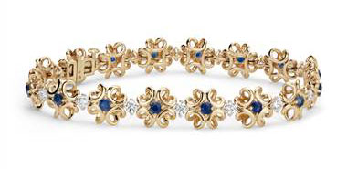 Blue Nile - Holiday Special on Colin Cowie Sapphire and Diamond Bracelet