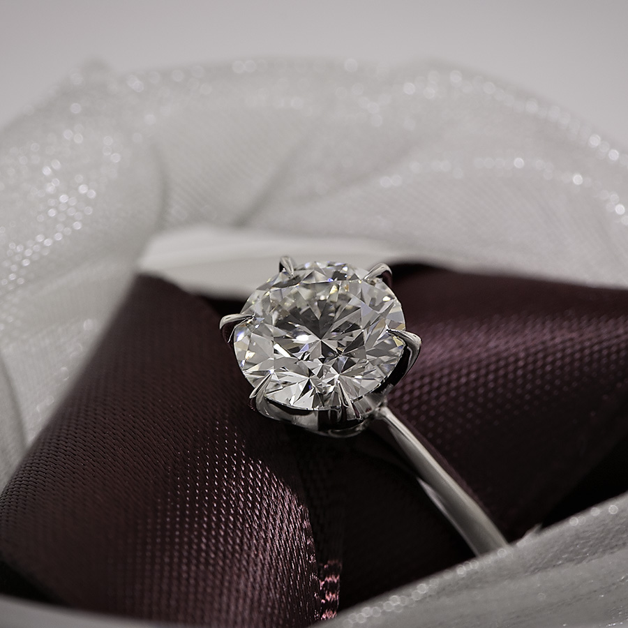 Csinc's Crafted by Inifinity 1.43 ct engagement ring