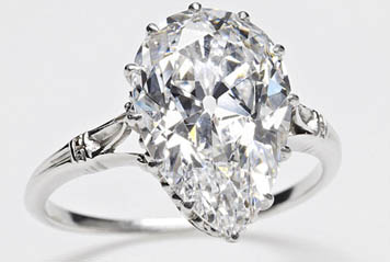 The Cullinan IX diamond ring