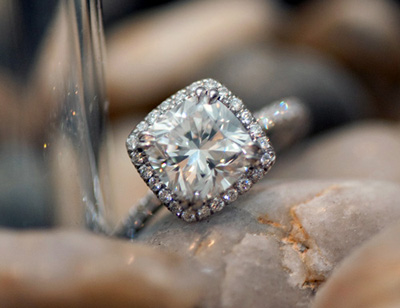 Engagement Rings on Jewel Of The Week   Harry Winston Inspired Ring   Pricescope