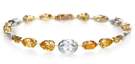De Beers Swan Lake Collection Diamond Bracelet