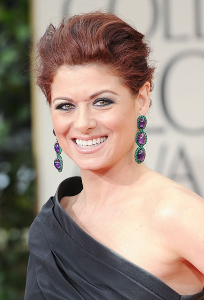 Debra Messing 2012 Golden Globes