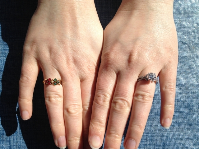 The New Ring and the Family Engagement Ring