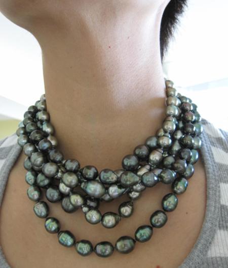 June birthstone Tahitian Pearls