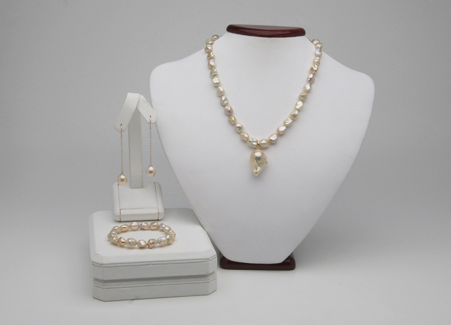 Pearl Paradise pearl set with diamonds shared by pinkjewel