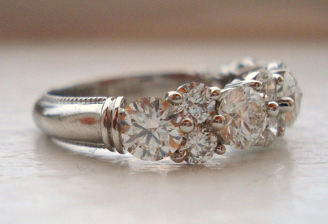 Aurora Diamond Wedding Ring