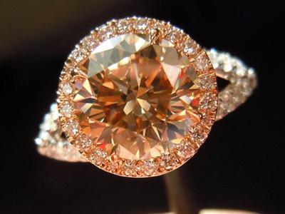 Fancy Brown diamond ring by Diamonds by Lauren