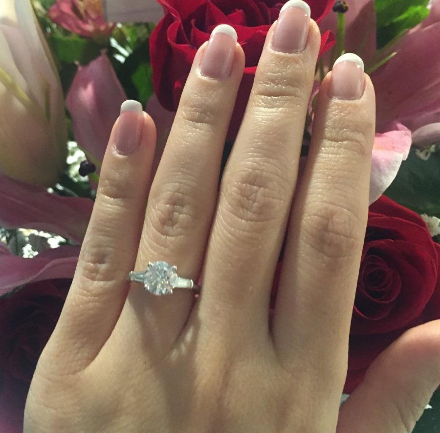 DrCocoChanel's 1.31 ct diamond engagement ring