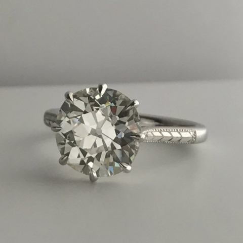 The Divine Miss M - OEC Diamond ring