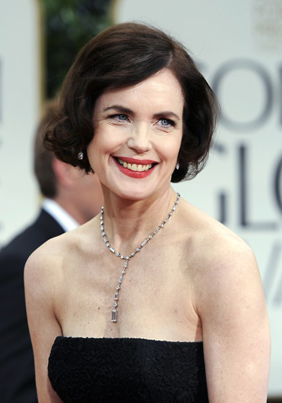 Elizabeth McGovern 2012 Golden Globes