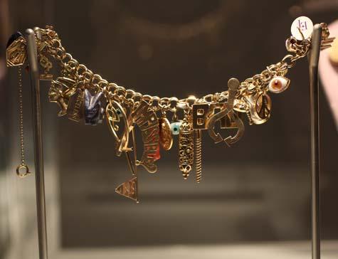 Elizabeth Taylor Charm Bracelet
