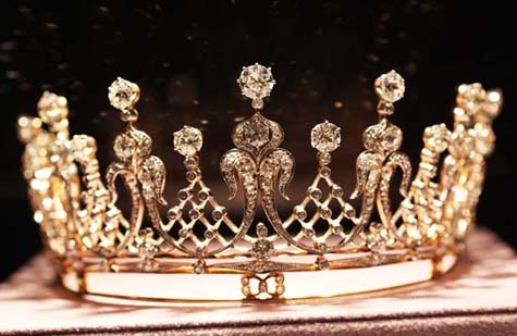 The Mike Todd Antique Diamond Tiara - Elizabeth Taylor
