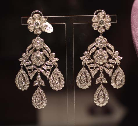 The Mike Todd Antique Diamond Earrings - Elizabeth Taylor