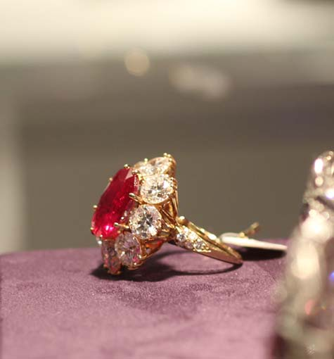 The Richard Burton Ruby and Diamond Ring