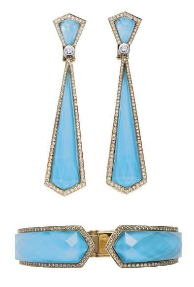 Elizabeth Taylor Turquoise Jewelry Suite