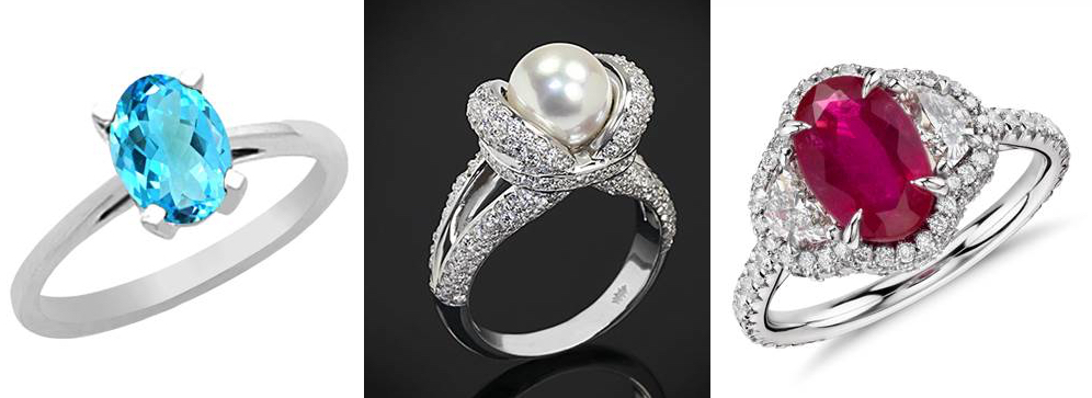 Gorgeous Gemstone Engagement Rings
