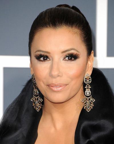 Eva Longoria Earrings 2011 Grammy Awards
