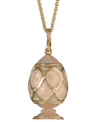 Oeuf Pavlovsk Poudré pendant by Fabergé