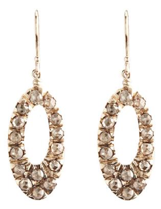 Fabrizio Riva brown diamond earrings