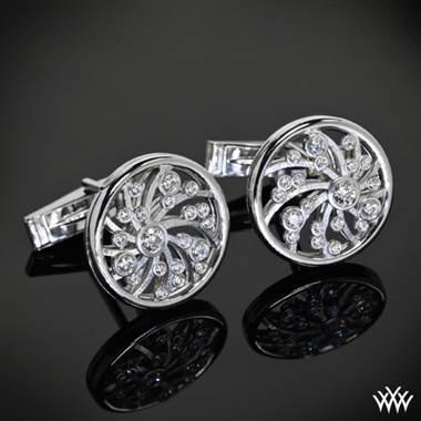 Platinum Dream of Africa cufflinks at Whiteflash