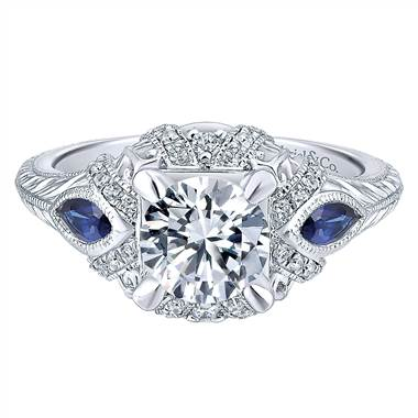 gabriel-co-14k-white-gold-diamond-and-sapphire-3-stones-halo-engagement-ring