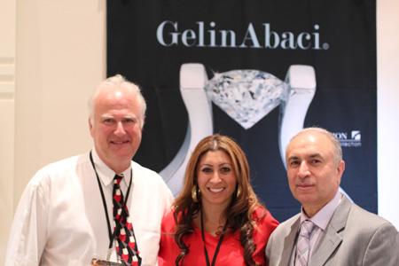 Gelin Abaci Team - Joe Hoffman, Mary Gelin, and Gabriel Gelin