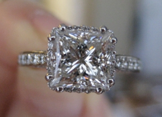GiannaV's Tacori Princess is Royally Beautiful!