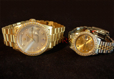 Gold and Diamond Rolex Watches