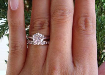 Engagement ring tiffany on hand  Tiffany Inspired - Tiffany Setting Comparison | PriceScope