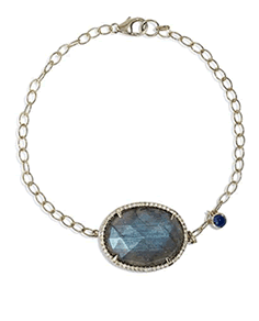 Greenwich Jewelers Collection  Labradorite Diamond Bracelet